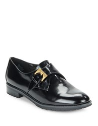 Anne Klein Bara Leather Oxfords Black
