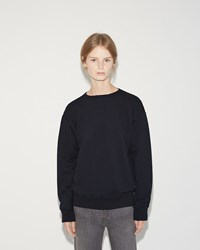 Chimala Fleece Crew Top Navy