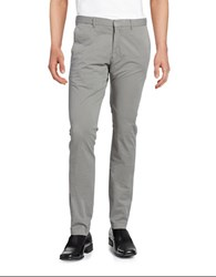 Strellson Cotton Chino Pants Medium Grey
