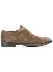 Officine Creative 'Anatomia' Monk Shoes Brown