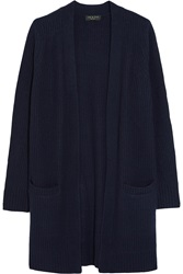 Rag And Bone Cynthia Ribbed Cashmere And Wool Blend Cardigan