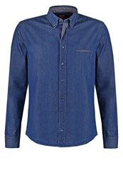 Boss Orange Twist Slim Fit Shirt Blue