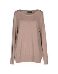 Compagnia Italiana Sweaters Light Brown