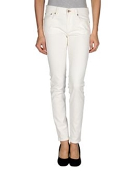 Ralph Lauren Black Label Denim Pants White