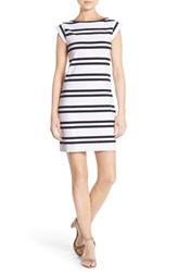 Women's French Connection 'Born On The Beach' Stripe T Shirt Dress