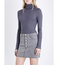 French Connection Marian Knitted Turtleneck Jumper Grey