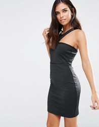 Love And Other Things Bandage Bodycon Dress Black