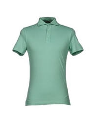 Zanieri Polo Shirts Acid Green