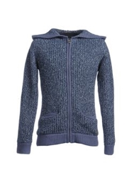 Galliano Cardigans Slate Blue