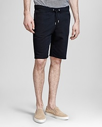 The Kooples Soft Fleece Shorts Black
