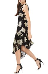 Topshop Women's Asymmetrical Hem Midi Dress