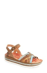 Women's Think 'Zega' Sandal Rust Leather