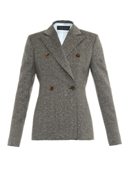 Jonathan Saunders Lorin Flecked Tweed Jacket