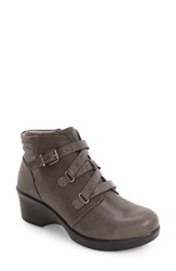 Alegria Women's Indi Demi Wedge Bootie Drifted Leather