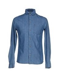 Eleven Paris Denim Shirts Blue