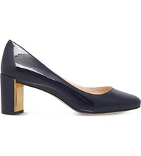 Nine West Franny Patent Leather Courts Navy