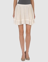 Boy By Band Of Outsiders Mini Skirts Ivory