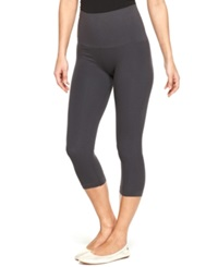 Star Power By Spanx Tout And About Wide Waistband Seamless Shaping Capri Leggings