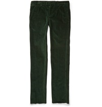 Michael Bastian Slim Fit Corduroy Trousers Green