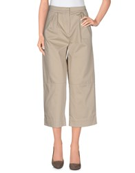 Alpha Studio Trousers 3 4 Length Trousers Women Sand