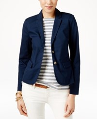Tommy Hilfiger Two Button Blazer Masters Navy
