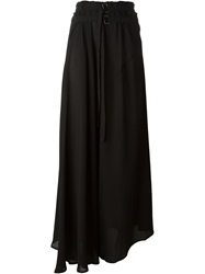 Ann Demeulemeester Long Belt Tie Skirt Black