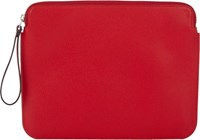 Valextra Ipad Pouch Red