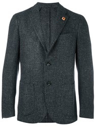 Lardini Tweed Blazer Grey