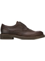 Eleventy Classic Brogues Brown