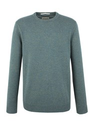 Racing Green Shelley Lambswool Blend Crew Neck Knit Blue