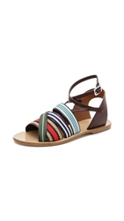 Band Of Outsiders Multicolor Strappy Sandals