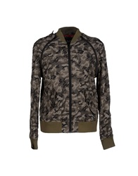 Dandg D And G Jackets Military Green