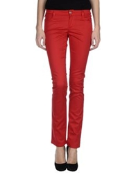 Nero Giardini Casual Pants Red
