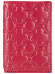 Comme Des Garcons Wallet Quilted Wallet Red