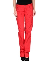 Blu Byblos Casual Pants Red