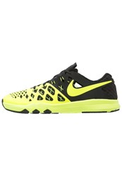 Nike Performance Train Speed 4 Sports Shoes Volt Black Yellow