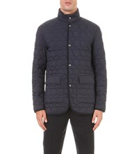 Z Zegna Reversible Quilted Jacket Navy
