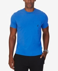 Nautica Men's Farley Pocket T Shirt Frenchblue