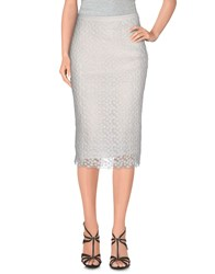Nougat London Skirts Knee Length Skirts Women White