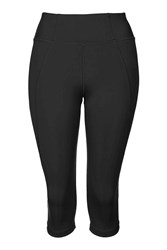 Y' High Rise Capri Leggings By Ivy Park Black