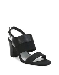 Tahari Peace Heeled Sandals Black
