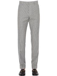 Gucci 17Cm Cotton And Linen Vichy Pants