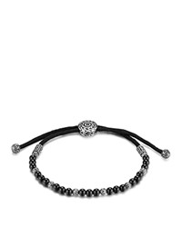 John Hardy Men's Sterling Silver Classic Chain Beaded Bracelet With Black Onyx