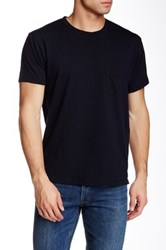 Marc By Marc Jacobs Solid Pocket Tee Black