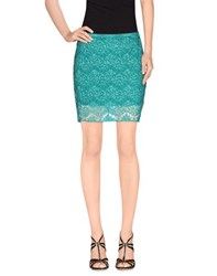 Cycle Skirts Mini Skirts Women Green