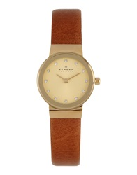 Skagen Denmark Wrist Watches Gold
