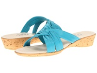 Onex Sail Turquoise Women's Wedge Shoes Blue