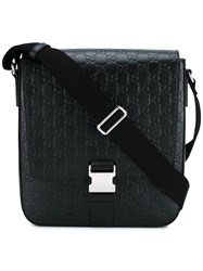 Gucci 'Signature' Messenger Bag Black