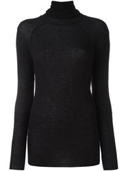 Haider Ackermann Roll Neck Long Sleeves Sweater Black