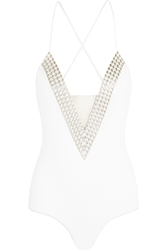 La Perla Summer Chain Embellished Swimsuit